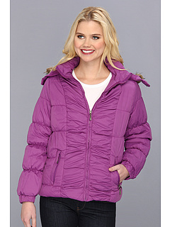 SALE! $16.99 - Save $43 on dollhouse Detachable Fur Hood Puffer (Plum) Apparel - 71.68% OFF $59.99