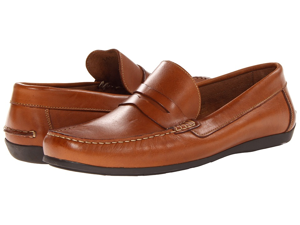 Florsheim Jasper Penny Loafer Slip-On (Cognac Smooth) Men