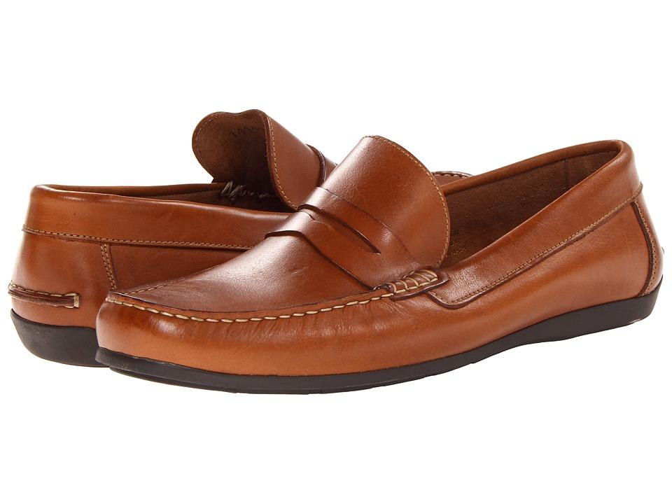 Florsheim - Jasper Penny Loafer Slip-On (Cognac Smooth) Men's Slip on Shoes