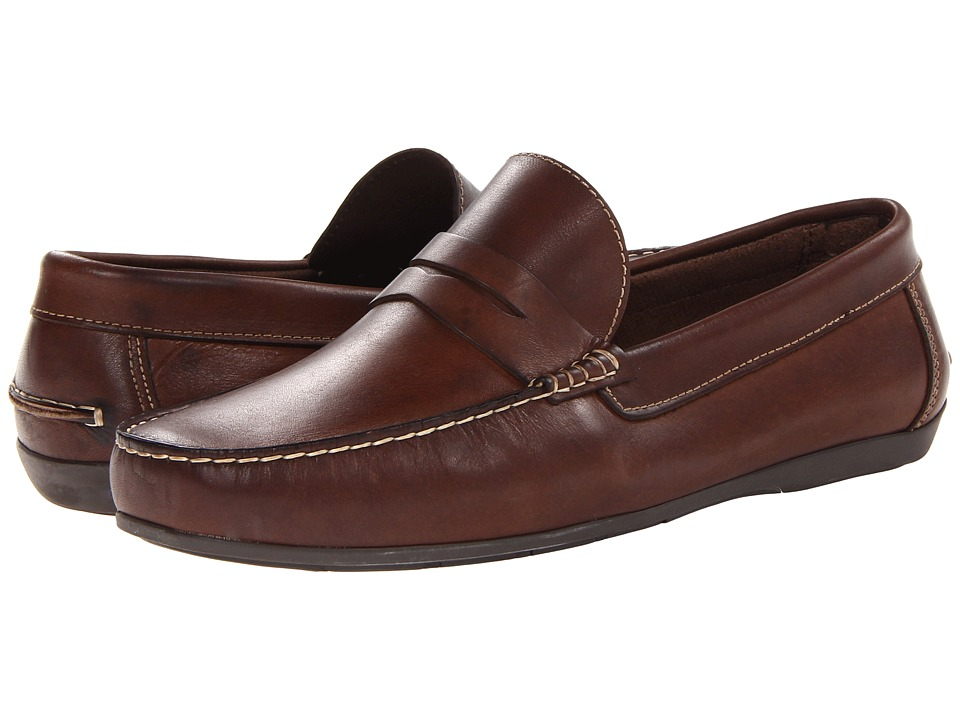 Florsheim Jasper Penny Loafer Slip-On (Brown Smooth) Men