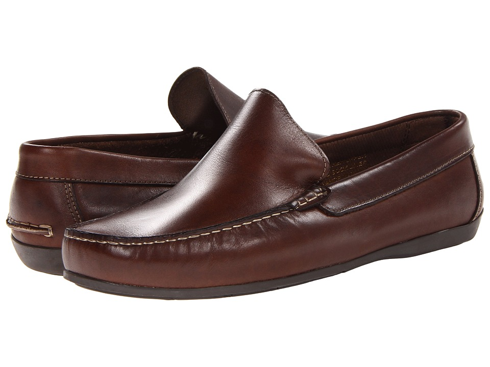 Florsheim Jasper Venetian Slip-On (Brown Smooth) Men
