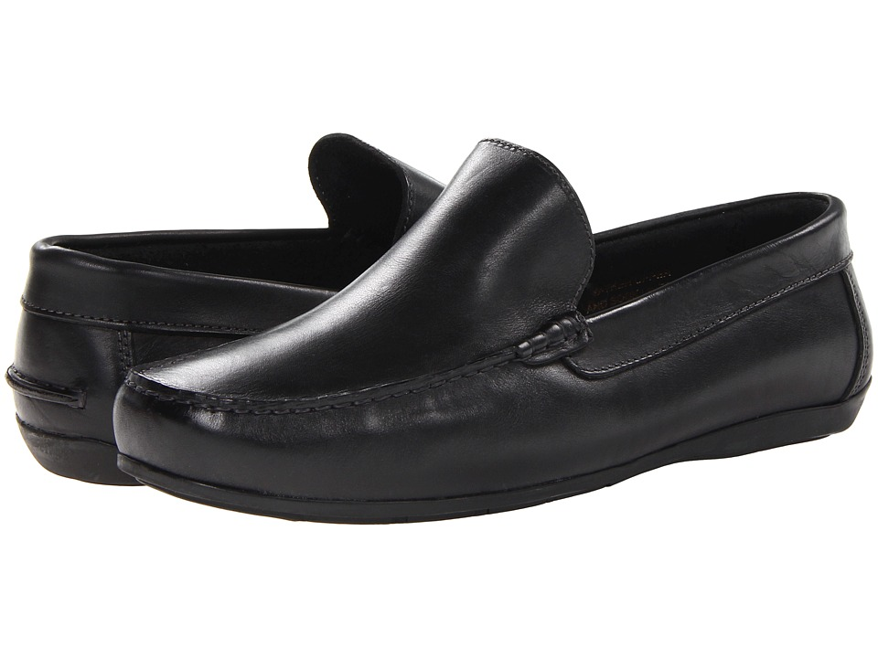 Florsheim Jasper Venetian Slip-On (Black Smooth) Men