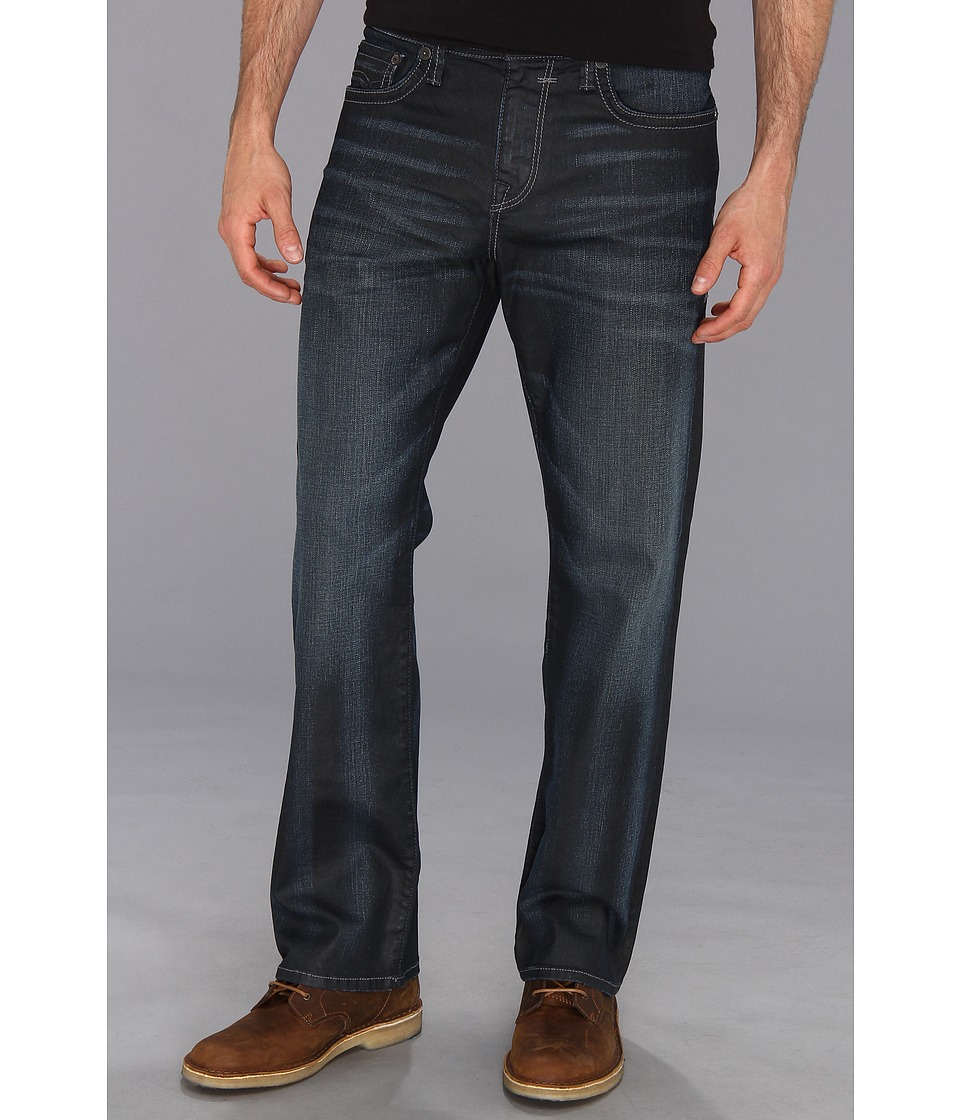 Mavi Jeans - Matt Mid-Rise Relaxed Straight Leg in Coated Utah (Coated Utah) Men's Jeans