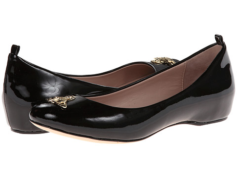 Vivienne Westwood - Helena II (Black Patent) Women's Slip on Shoes