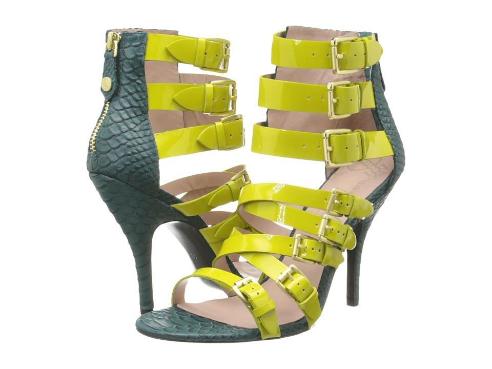 Vivienne Westwood Millie (Lime Petrol) High Heels