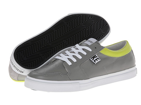 Bikkembergs - Plus 100 Low Top Trainer (Grey) Men's Lace up casual Shoes