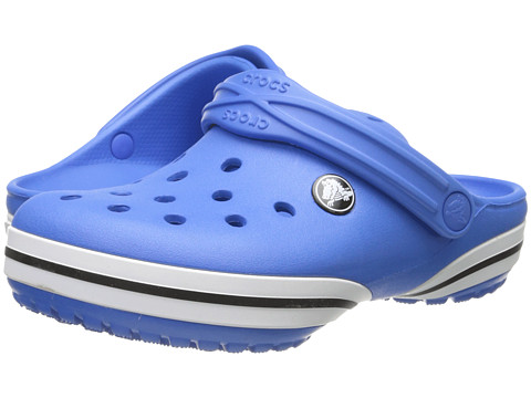 Crocs Kids - Crocband-X Clog (Toddler/Little Kid) (Varsity Blue) Kids Shoes