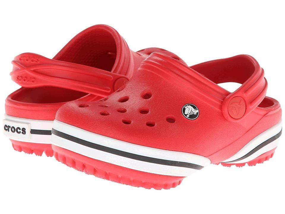 Crocs Kids - Crocband-X Clog (Toddler/Little Kid) (Red) Kids Shoes