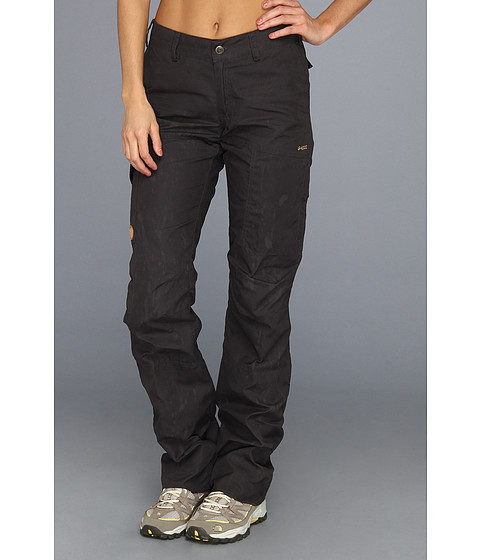 Fj llr ven - Karla Trousers (Dark Grey) Women