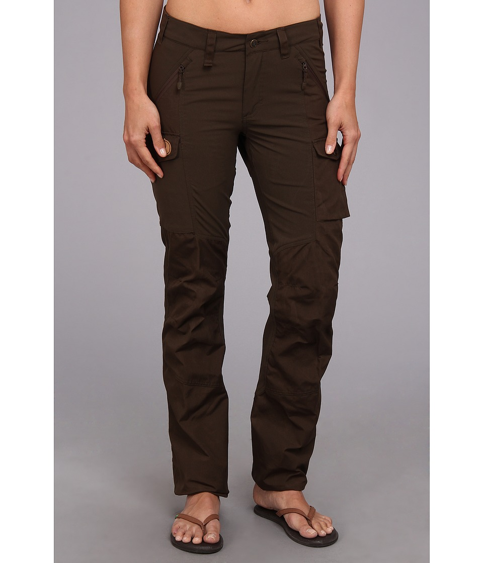 Fj llr ven - Nikka Trousers (Dark Olive) Women's Casual Pants