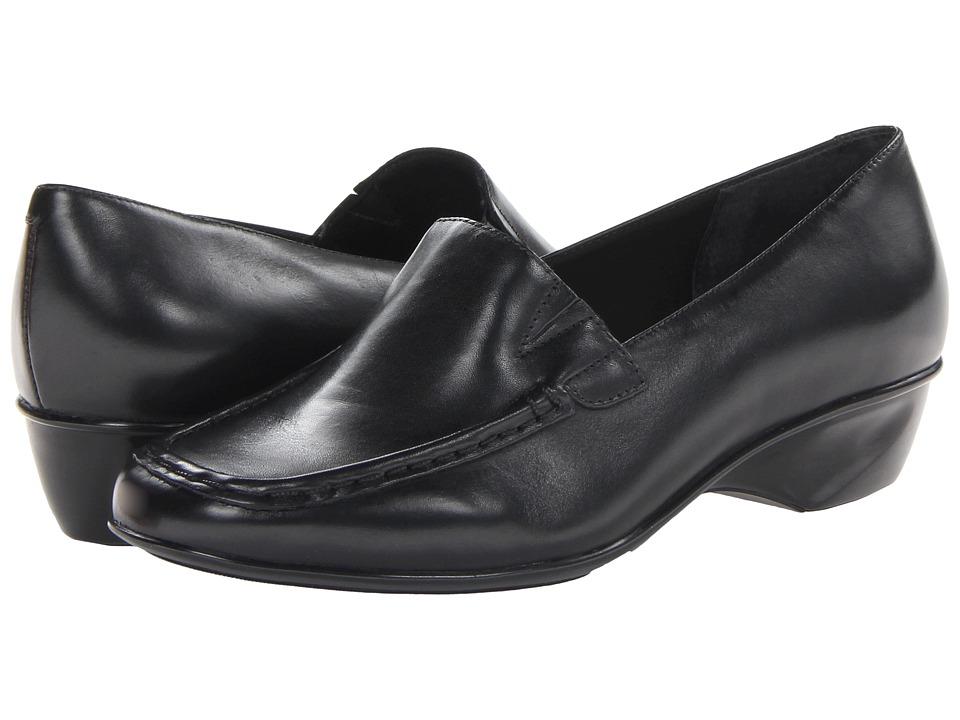 Walking Cradles - Terrace (Black Cashmere Leather) Women's Shoes
