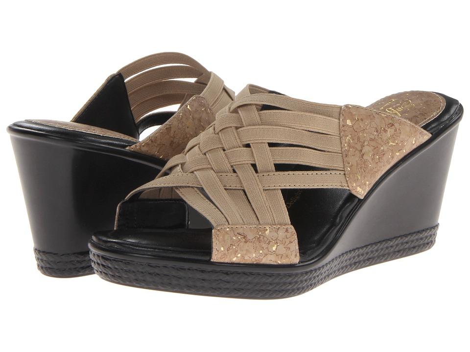 Soft Style - Wava (Cork/Elastic) Women's Sandals