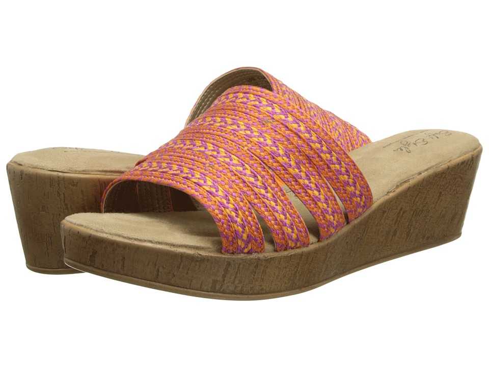 Soft Style - Janina (Fuchsia/Orange) Women's Sandals