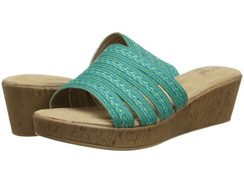 Soft Style - Janina (Blue/Green) Women's Sandals
