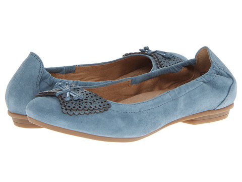 Earth - Butterfly (Pacific Blue Suede) Women's Shoes