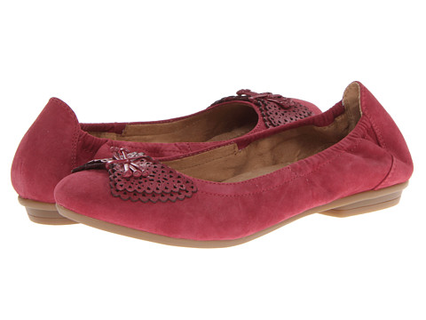 Earth - Butterfly (Red Plum Suede) Women's Shoes