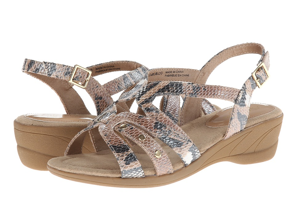 Soft Style - Taris (Natural Python) Women's Sandals
