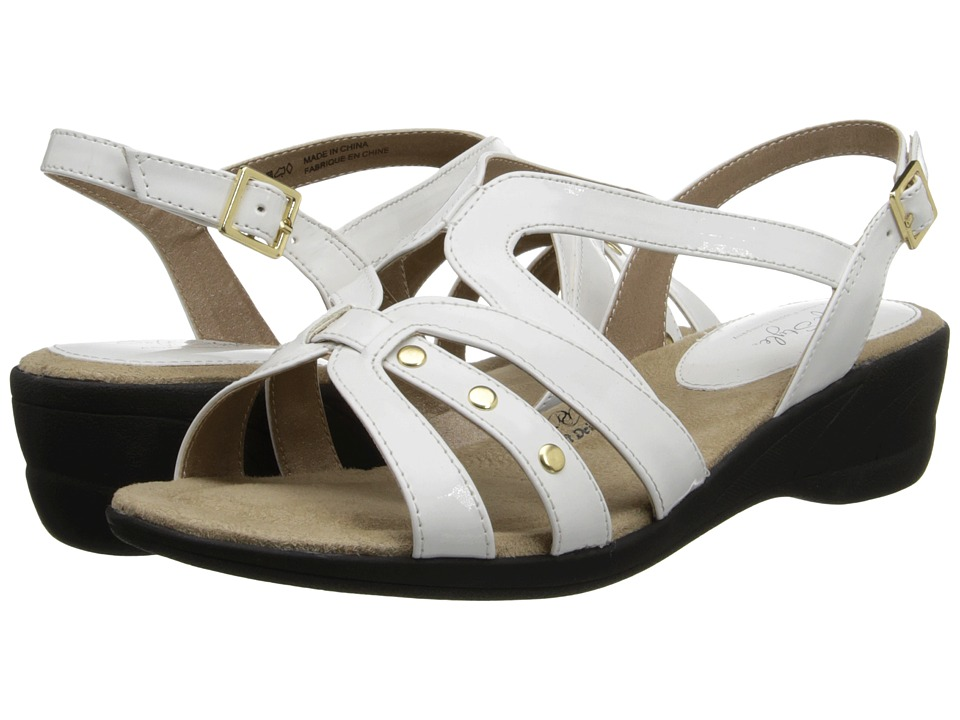 Soft Style - Taris (White Patent) Women's Sandals