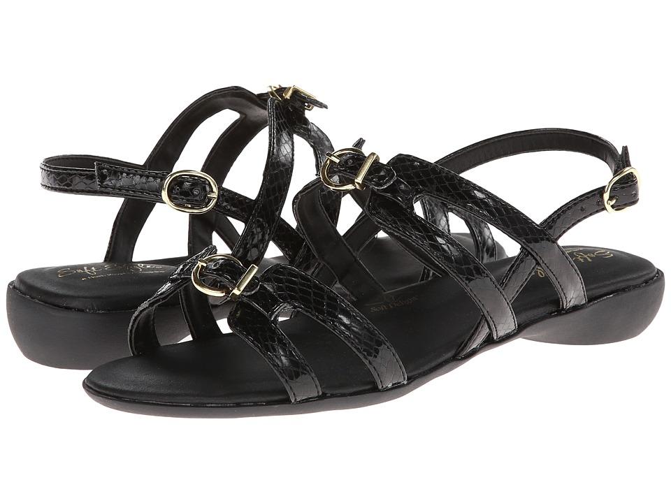 Soft Style - Votive (Black) Women's Sandals
