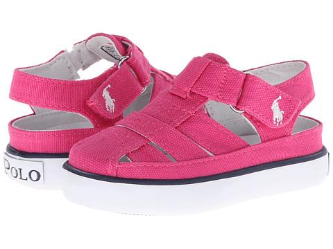 Polo Ralph Lauren Kids - Sander Fisherman II (Toddler) (Active Pink Canvas) Girl