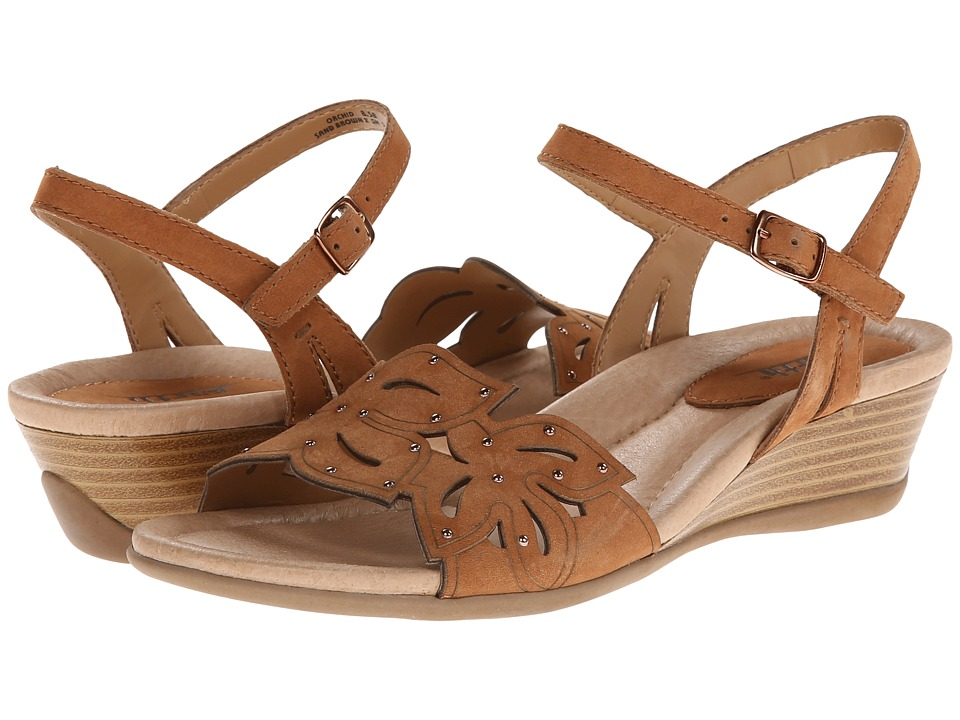 Earth Orchid (Sand Brown Soft Nubuck) Women