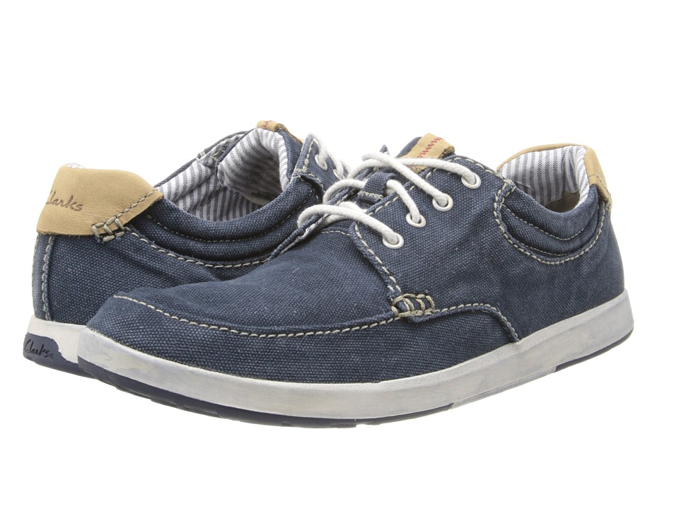 Clarks - Norwin Vibe (Navy) Men's Shoes