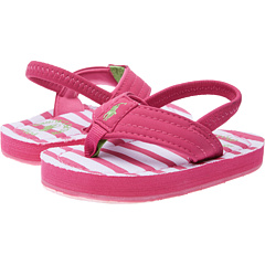 SALE! $16.99 - Save $10 on Polo Ralph Lauren Kids Theo (Toddler) (Active Pink Sportbuck w Pink White Stripe) Footwear - 37.07% OFF $27.00