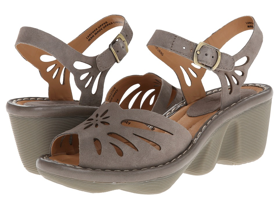 Earth - Solstice (Ash Grey Suede) Women's Shoes