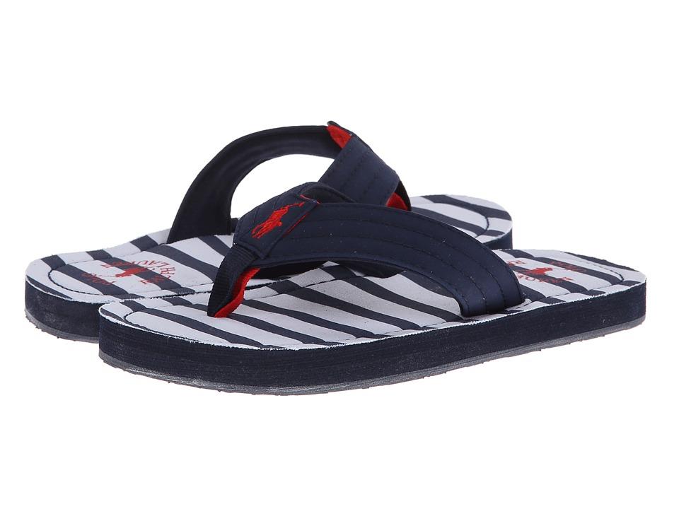 Polo Ralph Lauren Kids Theo Boys Shoes (Black)