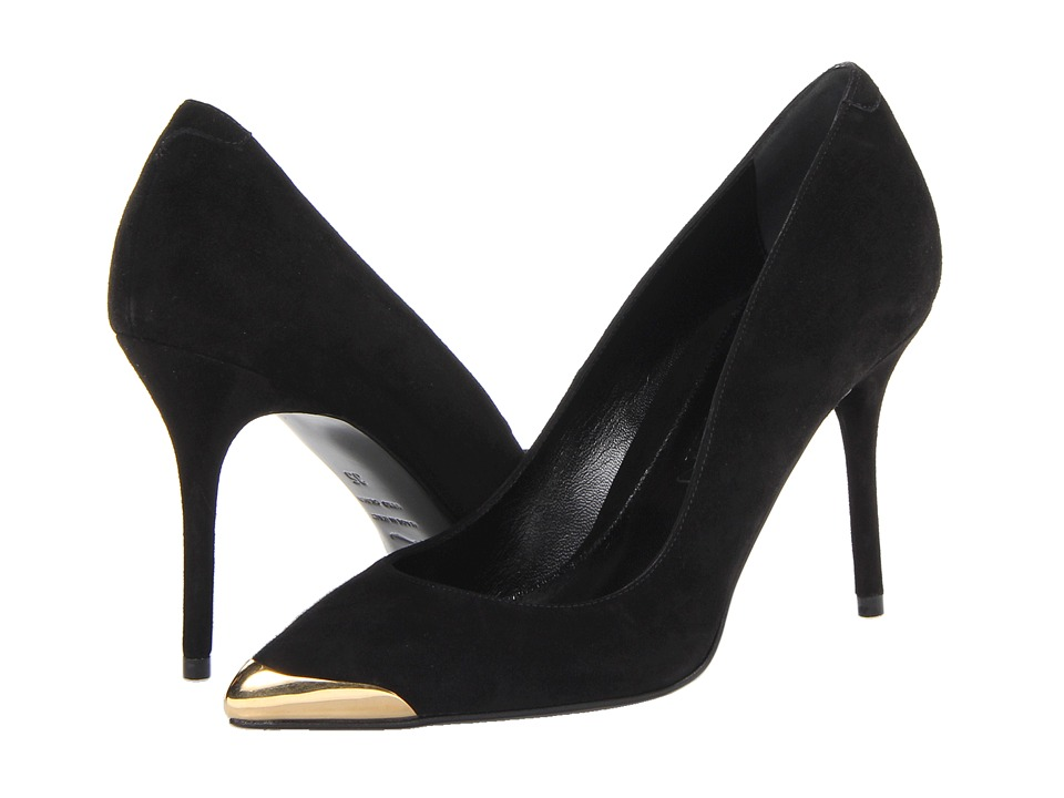 Alexander McQueen - Pointy Pump 85mm (Black) High Heels