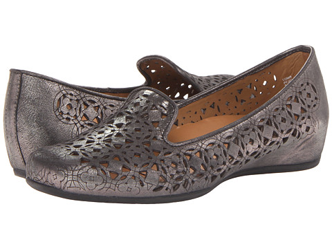 Earthies - Luma (Pewter Distressed Leather) Women's Shoes