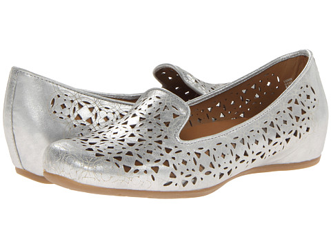 Earthies - Luma (Silver Distressed Leather) Women