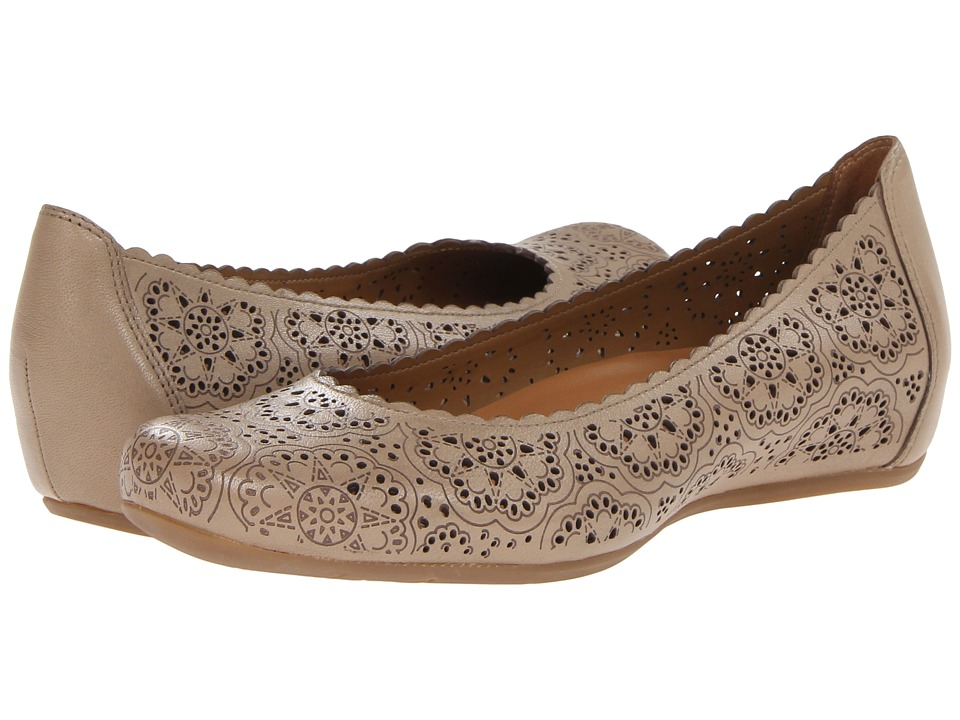 Earth - Bindi Earthies (Biscuit Full Grain Leather) Women's Flat Shoes