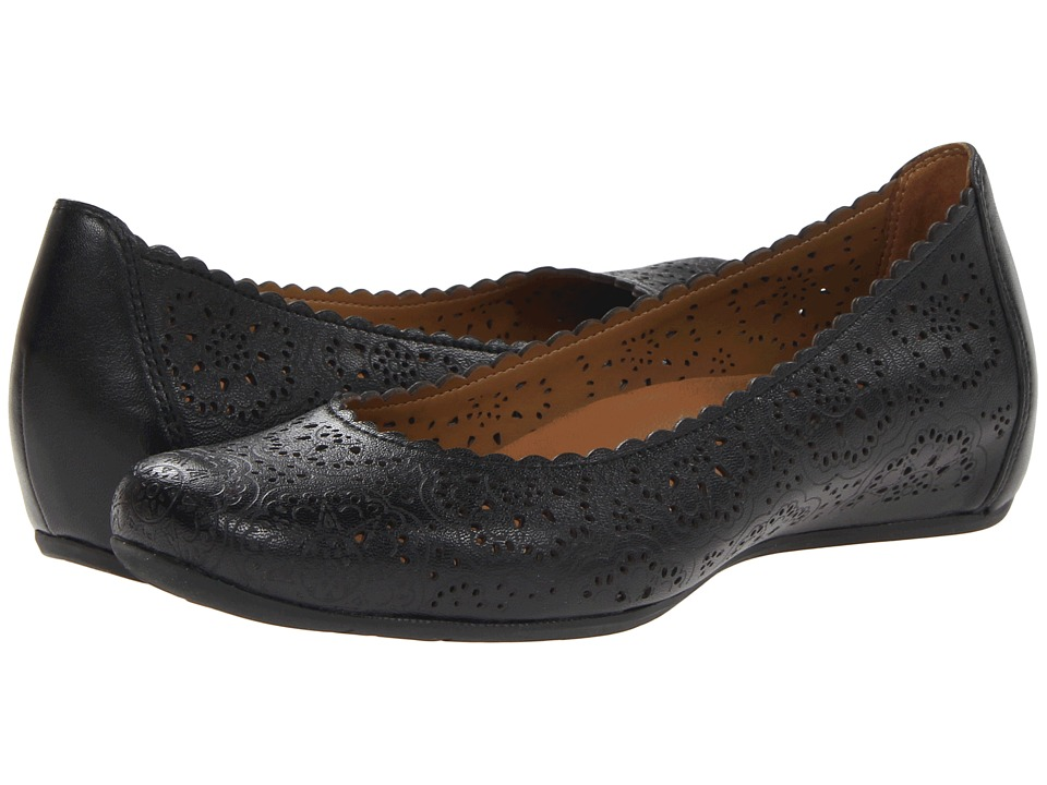 Earth - Bindi Earthies (Black Full Grain Leather) Women's Flat Shoes