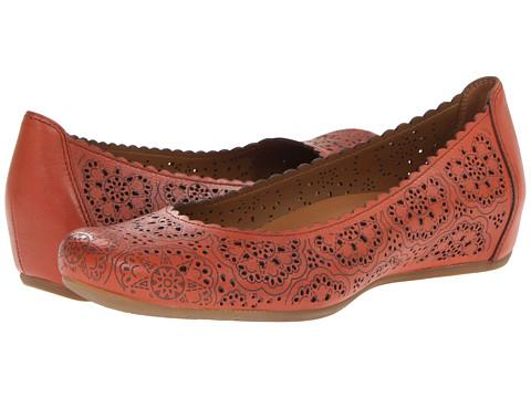 Earth - Bindi Earthies (Burnt Orange Full Grain Leather) Women's Flat Shoes