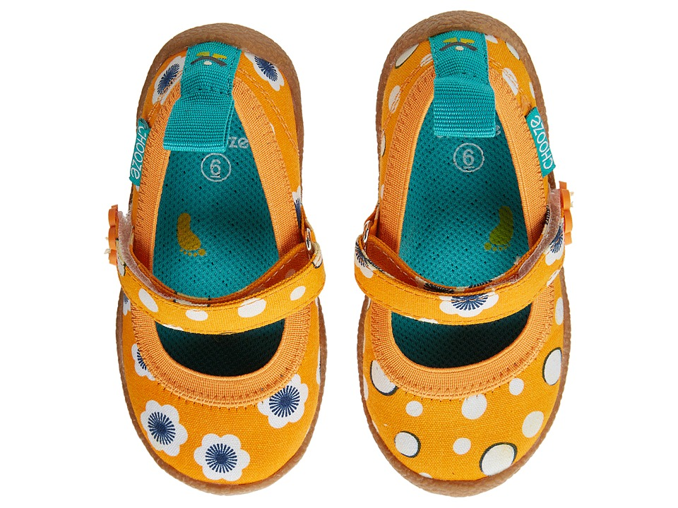 CHOOZE - Dance (Toddler/Little Kid) (Be Good Orange) Girls Shoes