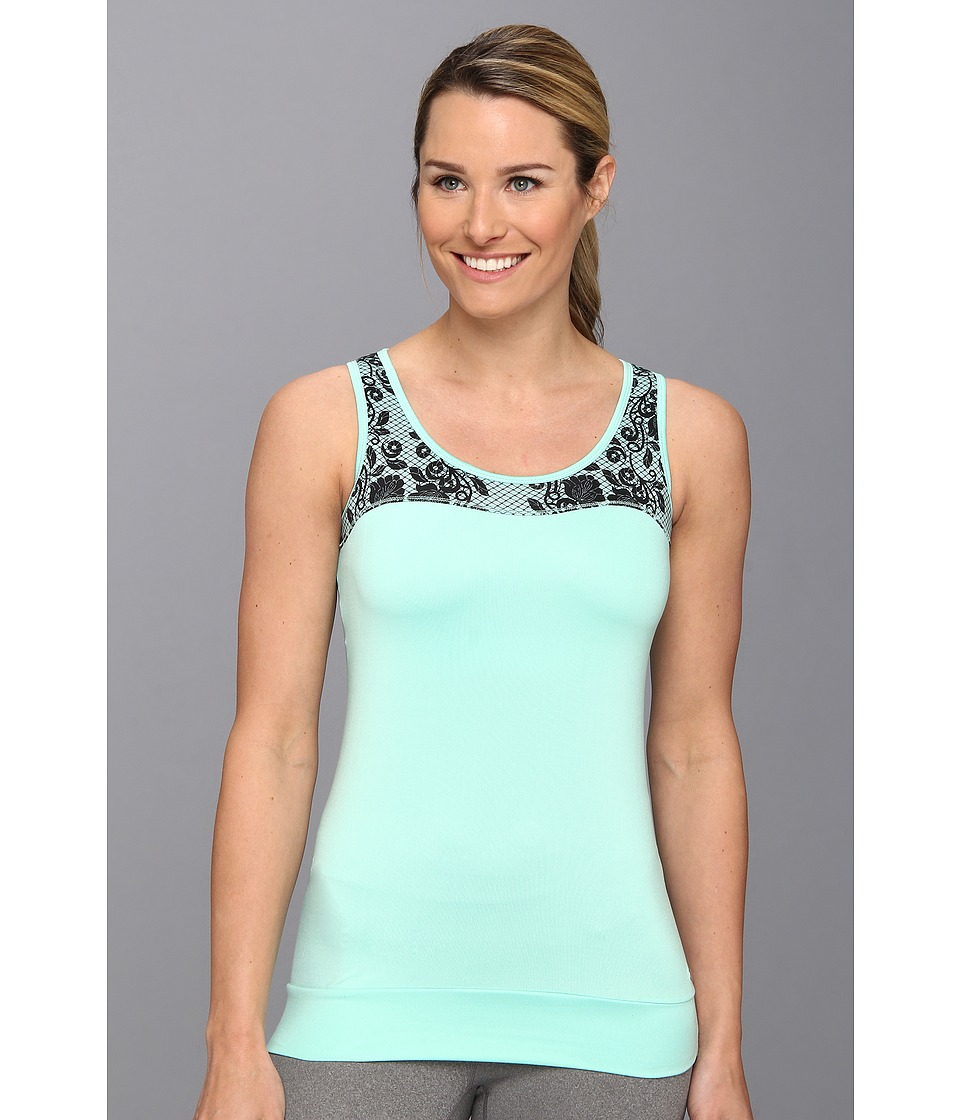 Ryka - Lace Tank (Mint Breeze) Women's Sleeveless