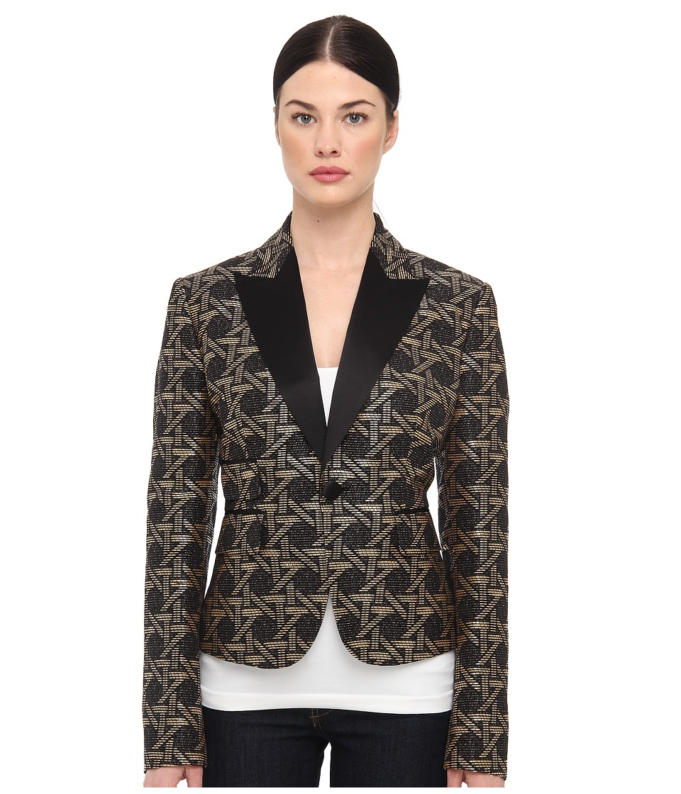 DSQUARED2 - Maggie Jacket (Black/Camel) Women's Jacket