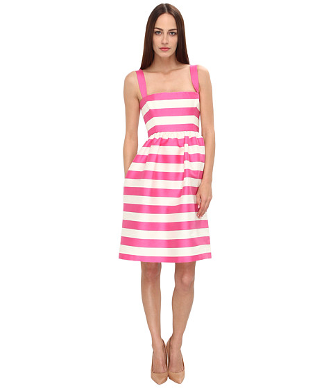 DSQUARED2 - Singles 50's Dress (Off White/Pink) Women's Dress