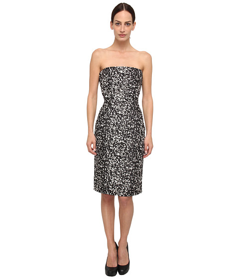 DSQUARED2 - Lou-Lou Dress (Black/White) Women's Dress