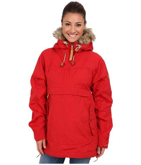 Fj llr ven - Iceland Anorak (Red) Women's Coat