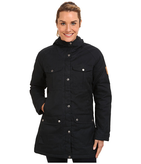 Fj llr ven - Greenland Parka (Dark Navy) Women's Coat