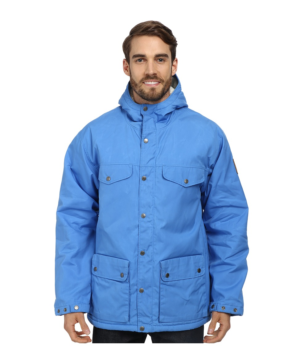 Fj llr ven - Greenland Winter Jacket (UN Blue) Men's Coat