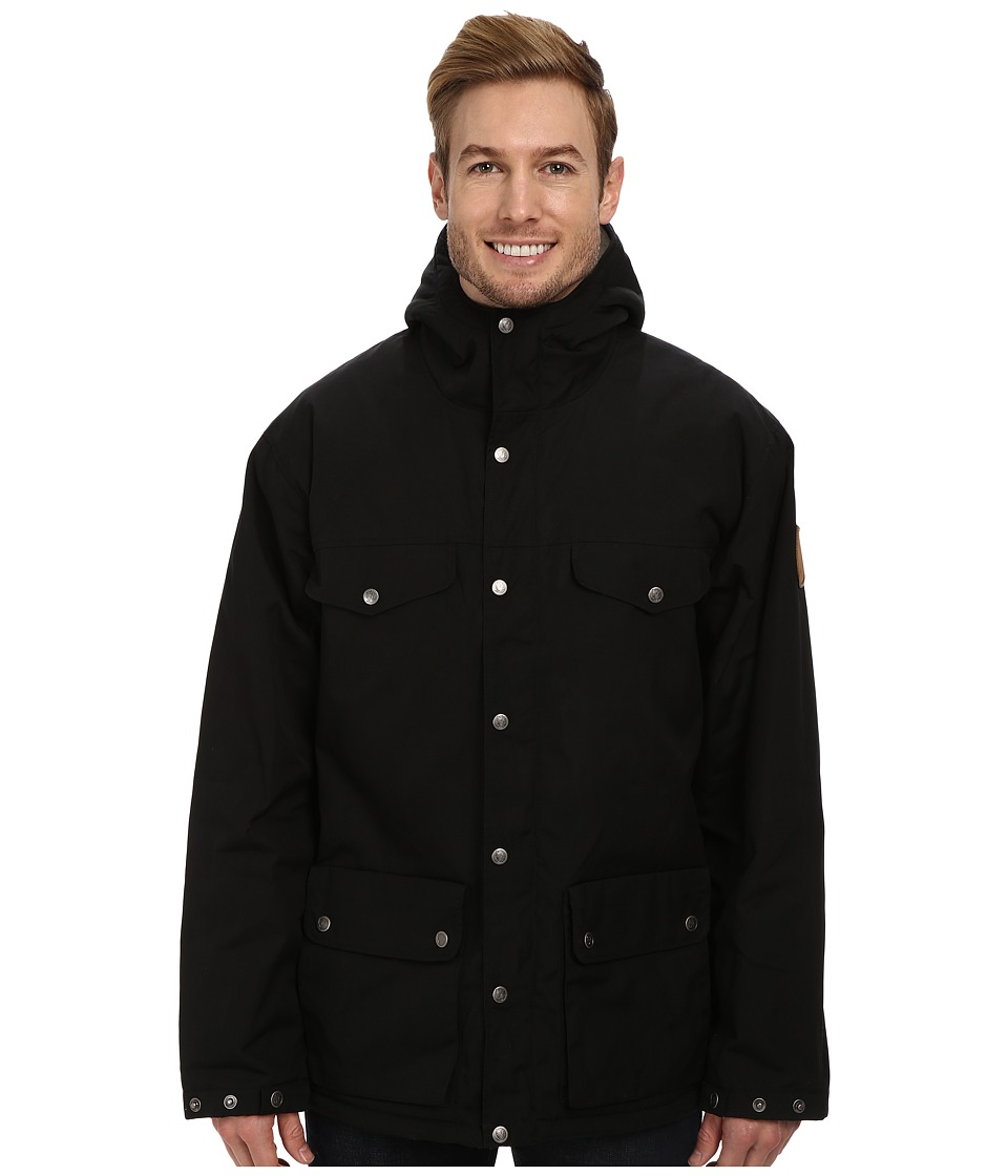 Fj llr ven - Greenland Winter Jacket (Black) Men's Coat