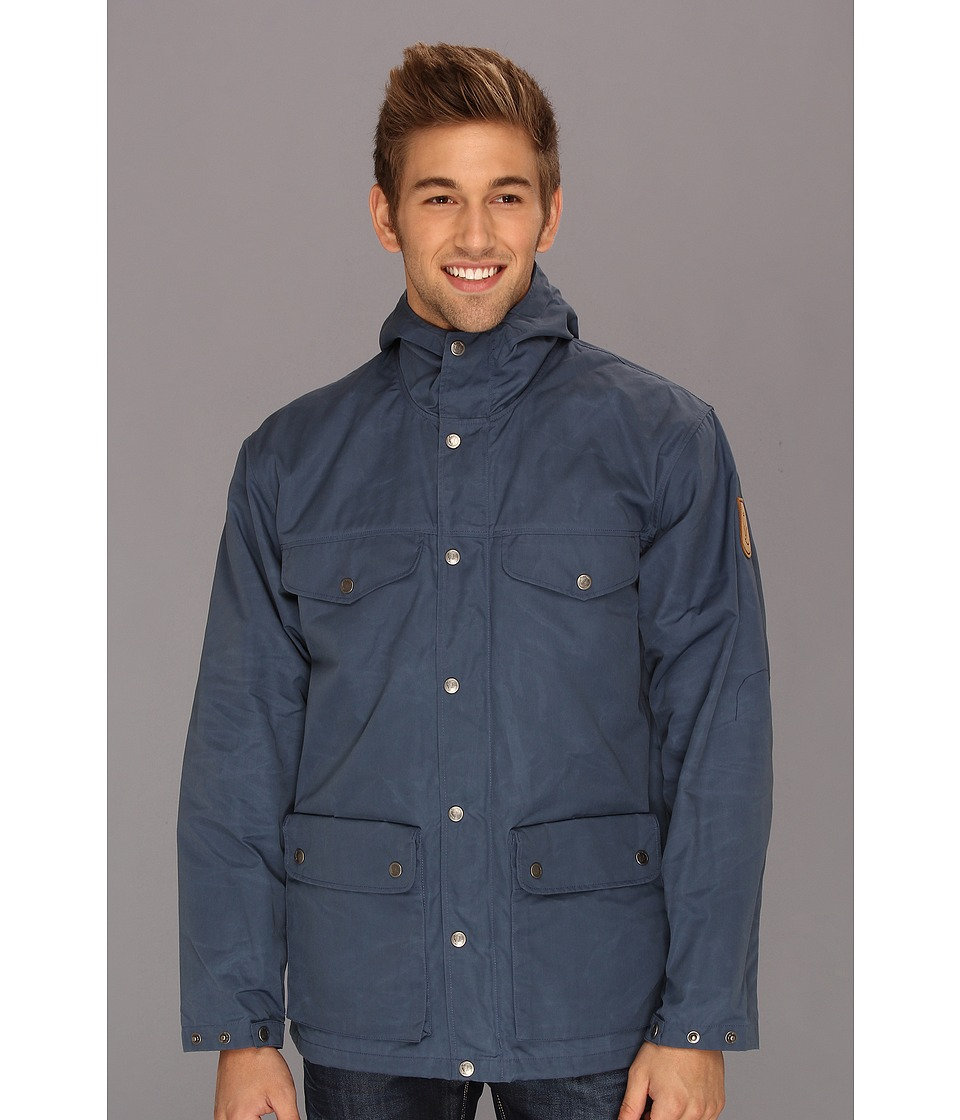 Fj llr ven - Greenland Jacket (Uncle Blue) Men's Coat