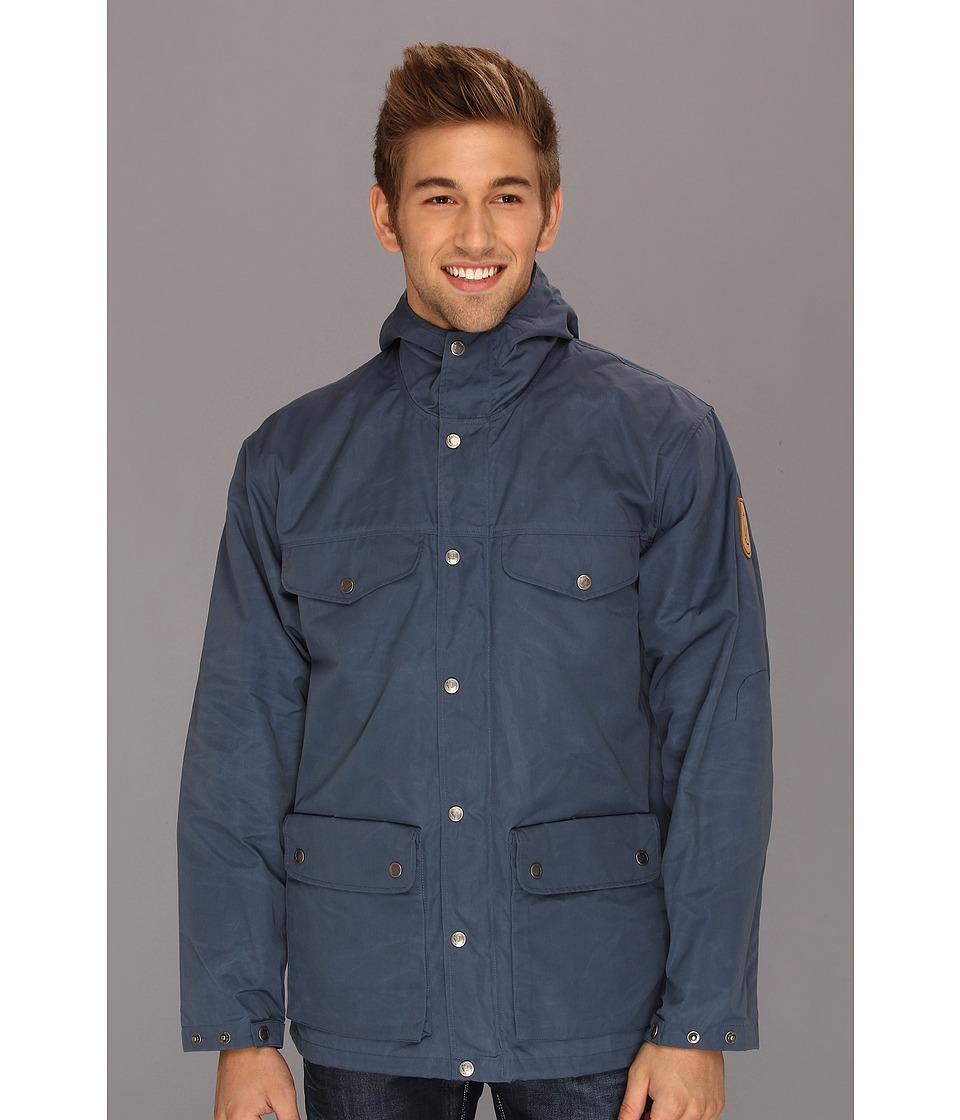 Fj llr ven - Greenland Jacket (Uncle Blue) Men's Coat