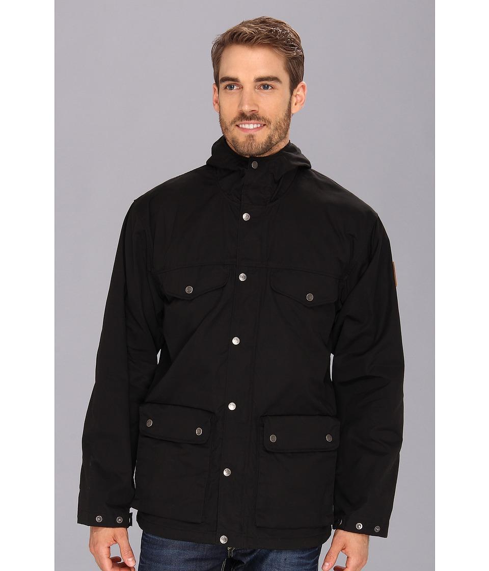 Fj llr ven - Greenland Jacket (Black) Men's Coat