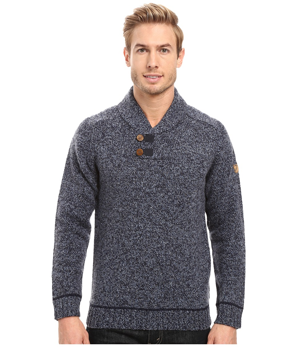Fj llr ven - Lada Sweater (Dark Navy) Men's Sweater