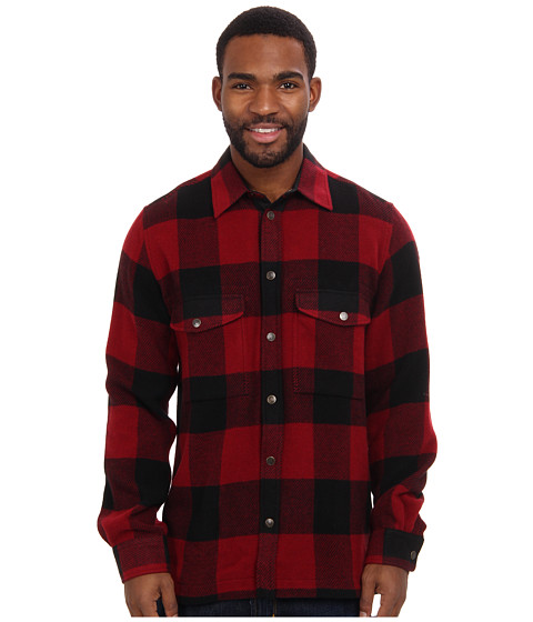 Fj llr ven - Canada Shirt (Red) Men's Coat