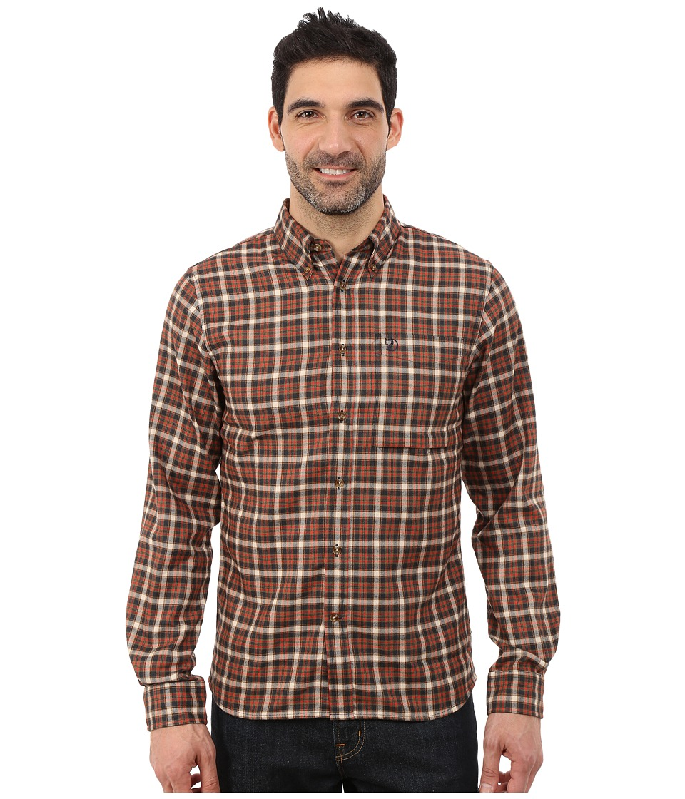 Fj llr ven - Stig Flannel Shirt (Dark Navy) Men's Long Sleeve Button Up